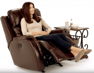 a powered electric lift make it easy to stand up from the chair
